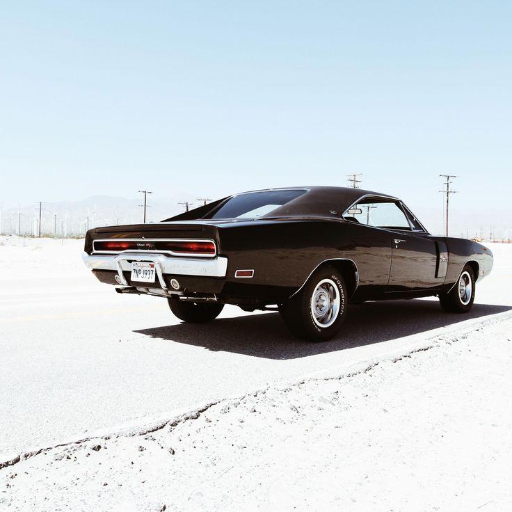 Dodge Charger '70 Vintage Muscle Car. Via Mija