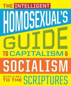 'The Intelligent Homosexual's Guide to Capitalism and Socialism with a Key to the Scriptures' Original Production POSTER.