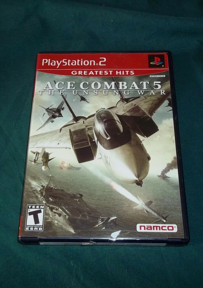 Ace Combat 5: The Unsung War For PlayStation 2 PS2 #ps4