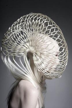 alien headpiece fashion