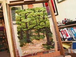 How to Make a Three-Dimensional Tapestry : Archive : Home & Garden Television