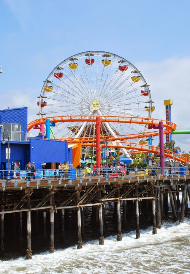 Spending an Afternoon in Santa Monica, California // Parking, the Third Street Promenade, Camera Obscura, and the Santa Monica Pier