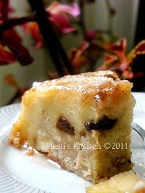 HESTI'S KITCHEN : yummy for your tummy: Caramelized Apple Bread Pudding