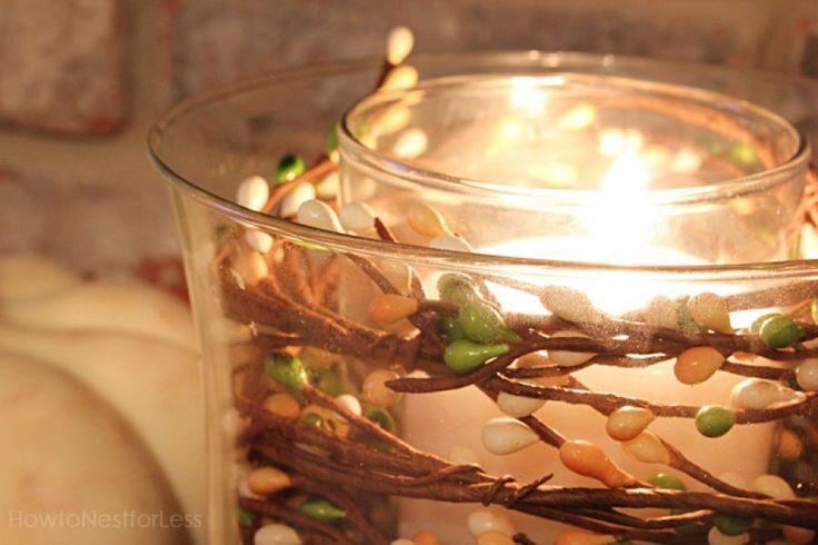 Φθινοπωρινό αλλά και Χριστουγεννιάτικο διακοσμητικό για ζεστή ατμόσφαιρα στο σπίτι