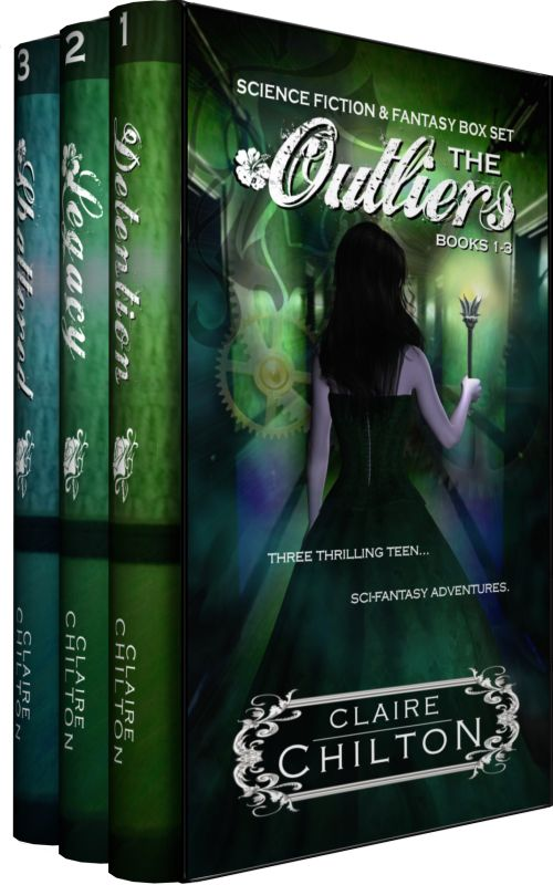 Teen fantasy books | young adult science fictions | teen sci-fi | comedy science fiction | The first three books in The Outliers series...