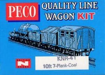 KNR-41 7 Plank coal wagon kit £3.50