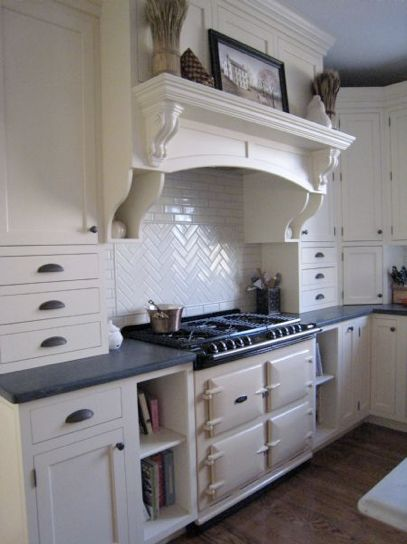 My dream stove, an enamel coated cast iron stove by AGA.