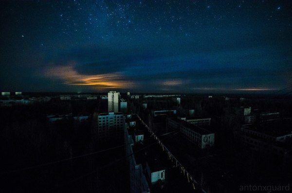 Ночь в ЧЗО красота, романтика, ночь, ЧЗО, Припять, длиннопост