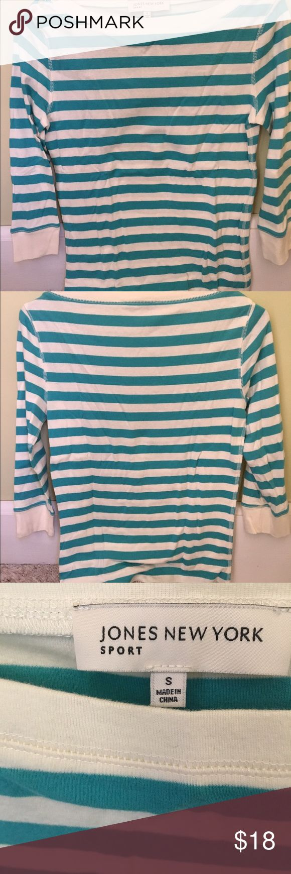 Jones New York Sport Women's Top Brand New, Never Worn, Excellent Quality. Adorable and Nautical looking. Jones New York Tops