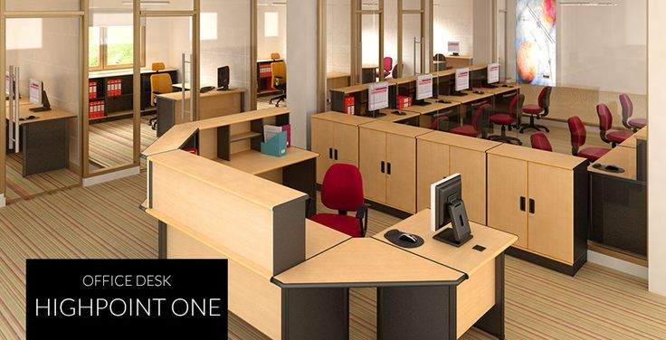 Highpoint One | HighPoint Office Modular desking system, designed with originality and durability to meet the basic needs of any office.
