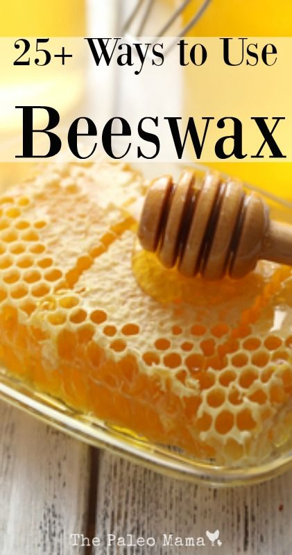 These 25 ways to use beeswax should keep you busy and give you lots of ideas for homemade gifts! http://thepaleomama.com/2015/11/25-ways-to-use-beeswax/