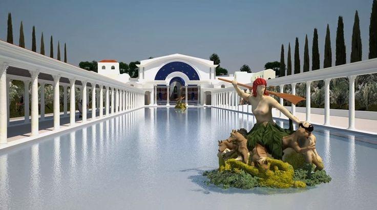 Canopus Canal And Serapeum Hadrian S Villa