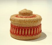 Rattle-Top Basket (Cockle Shell design)