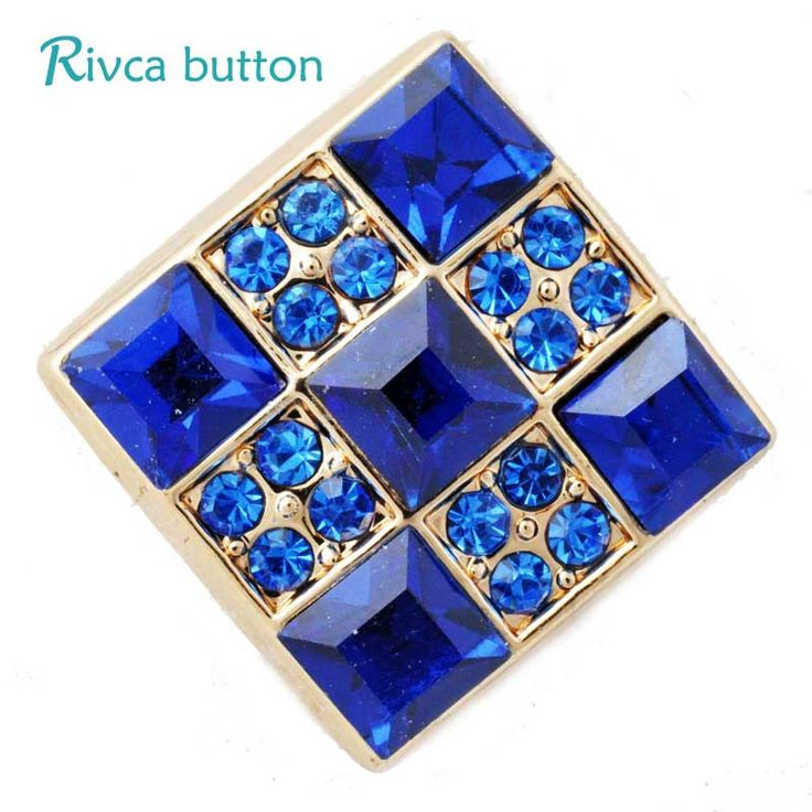 D02825 Hot Wholesale crystal items styles 18mm Metal Snap Button Charm Rhinestone Styles Button rivca Snap Button Jewelry