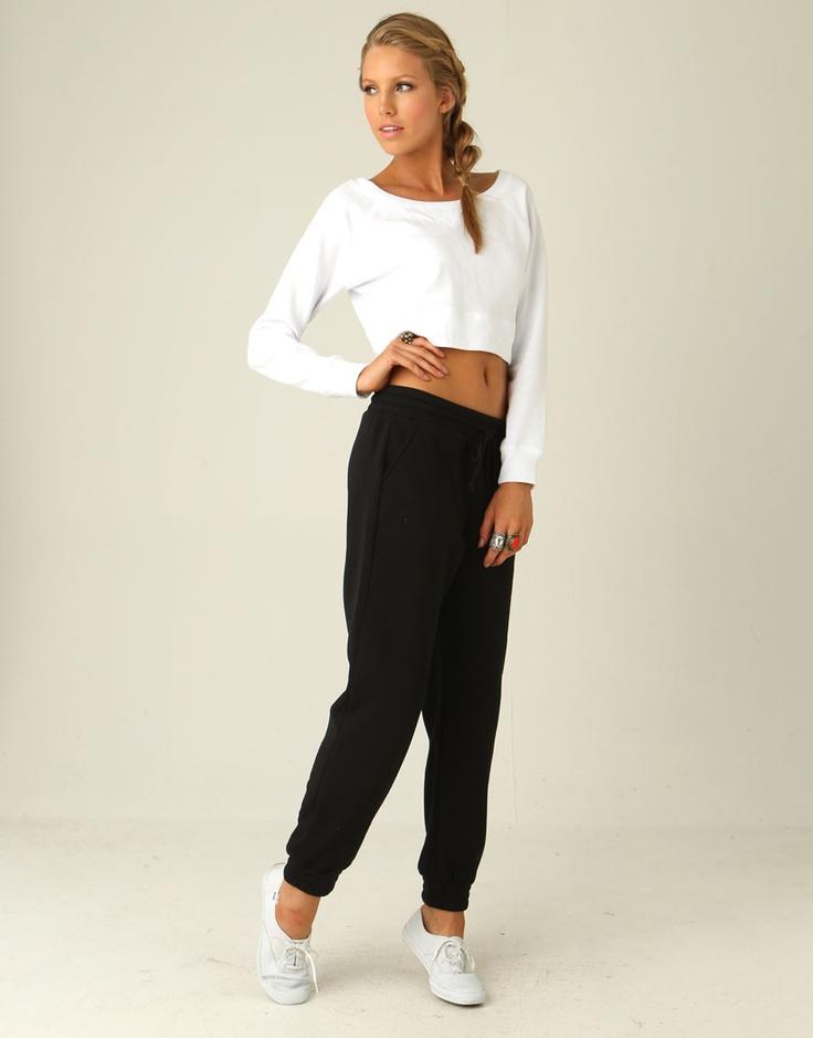Hipster fleecy pants