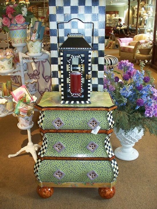 Mckenzie Childs Furniture Images | Hand Painted Chairs | HAND PAINTED  FURNITURE / Mackenzie Childs