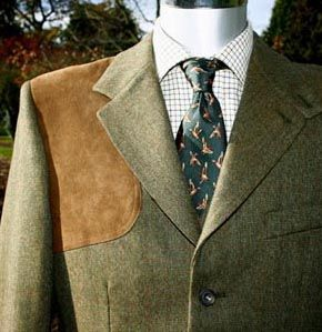 Tweed Shooting Jacket. Specified purpose with class.