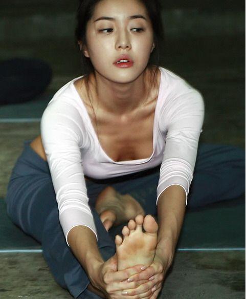 Park Han-Byul 박한별 요가 13p | Actress Park Han-Byul ...