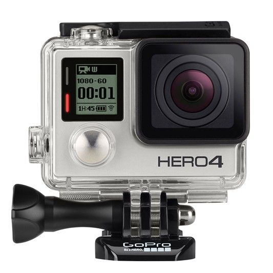 GOPRO - 12MP - 4K - HERO4 SILVER - STANDARD EDITION     available to buy online at Bing Lee - we stock the best brands at the best prices.