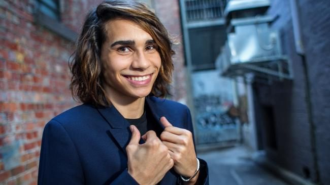 Isaiah Firebrace will represent Australia in Eurovision later this year. Picture: Mark Stewart