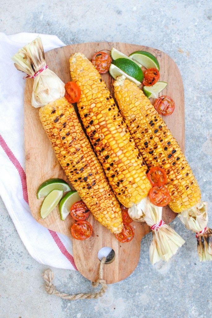 maçarocas grelhadas com especiarias | spicy grilled corn on the cob