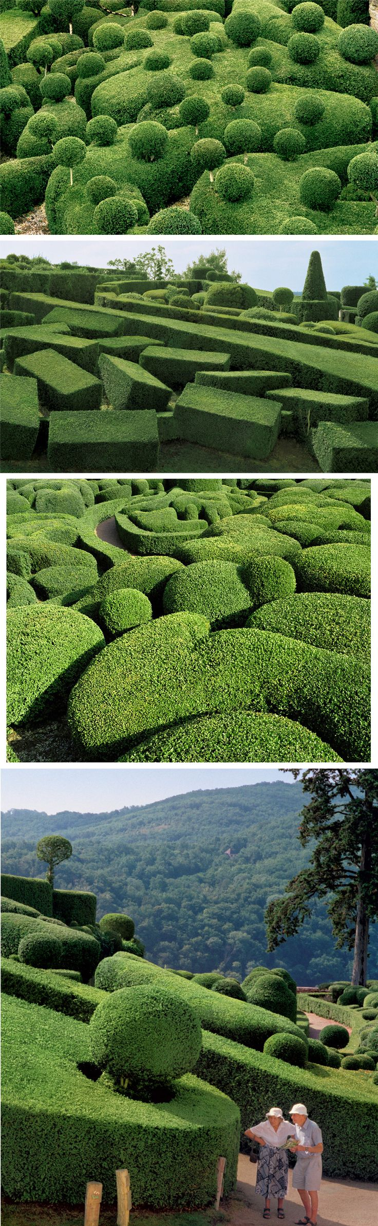 Surreal Views of the Marqueyssac Topiary Gardens Photographed by Philippe Jarrigeon
