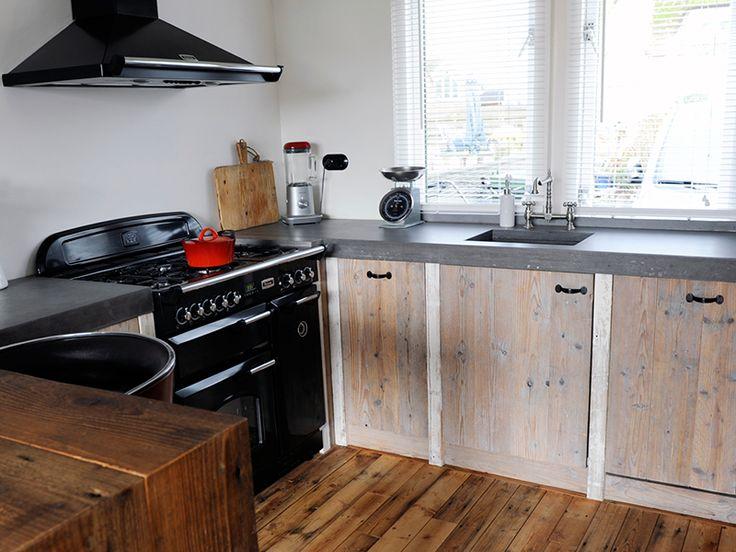 Keukens steigerhout | Steigerhouttuinmeubels.nl