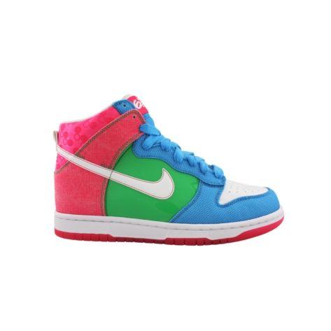 ... shop for womens nike dunk hi 6.0 athletic shoe in bluegreenpink at journeys  shoes. shop ...