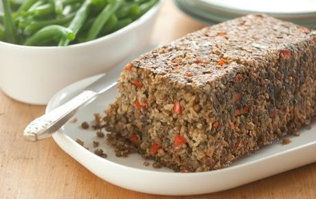 Healthy eating takes centre stage with the Celebration Lentil Loaf—a great alternative main course for vegetarians and vegans. Description from greenlivingonline.com. I searched for this on bing.com/images