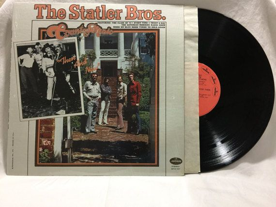 The Statler Brothers Country Music Then And Now Vintage Vinyl Record Album 33 rpm lp 1972 Mercury Records SRM-1-1125 by NostalgiaRocks