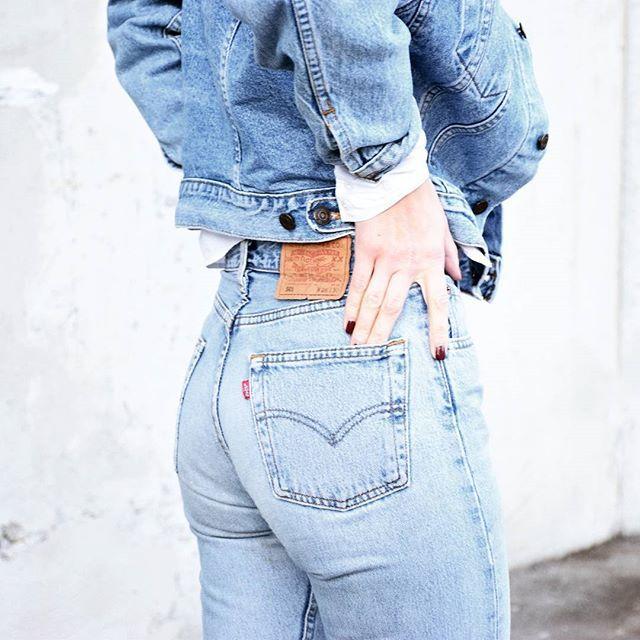 levis 501 jeans levis denim jacket vintage katiquette double denim levis pinterest. Black Bedroom Furniture Sets. Home Design Ideas