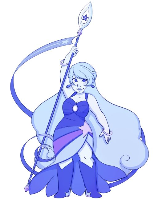 steven universe moonstone and sunstone    really feeling my old gemsona anymore so I made a new one: Moonstone ...
