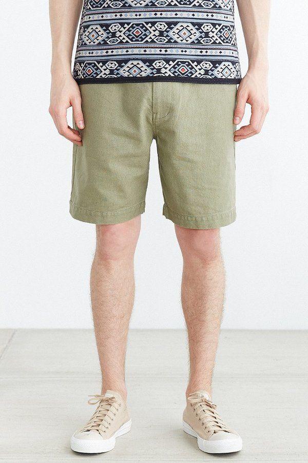 Koto Pull-On Linen Short