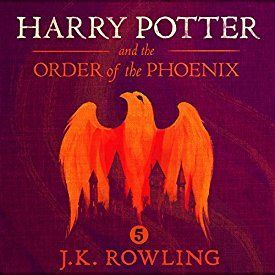 "Another must-listen from my #AudibleApp: ""Harry Potter and the Order of the Phoenix, Book 5"" by J.K. Rowling, narrated by Jim Dale."