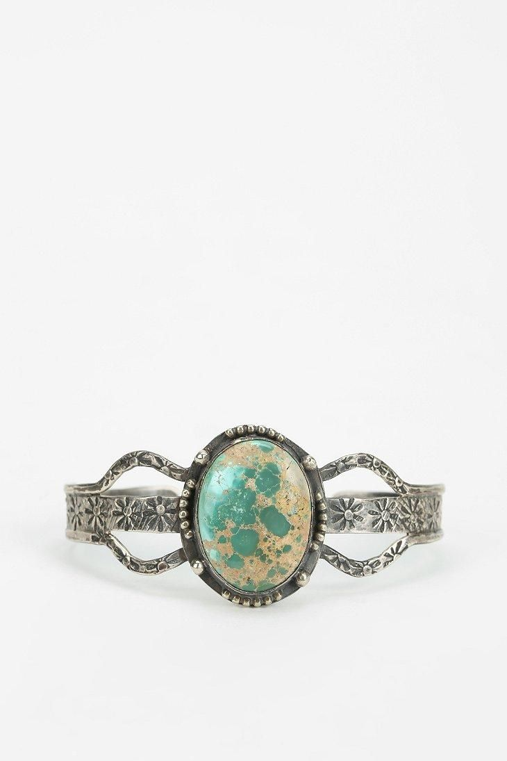 Vintage Engraved Cuff Bracelet #urbanoutfitters
