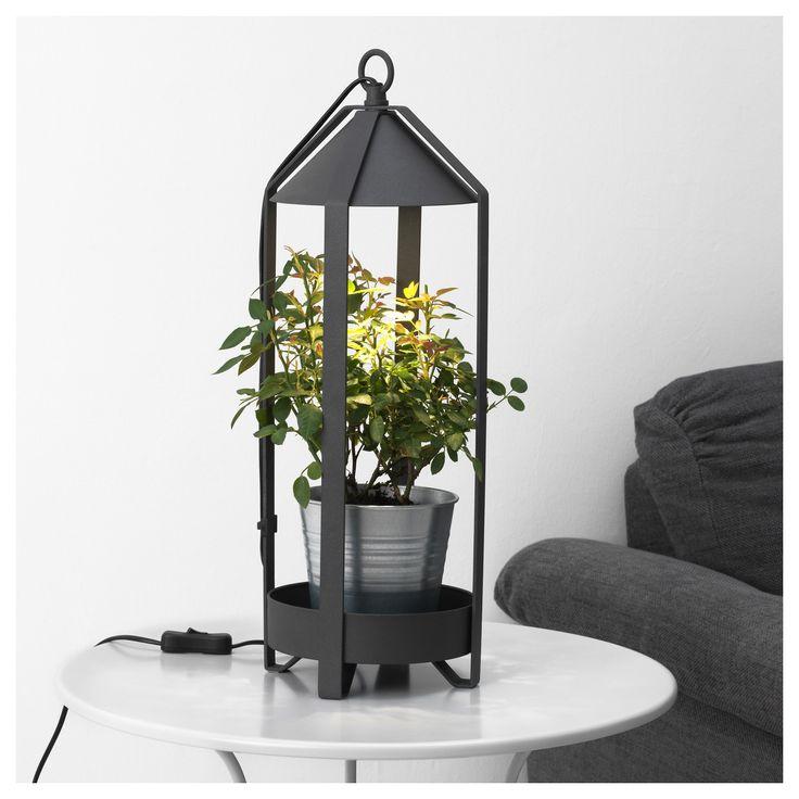 KRYDDA, Pflanzenhalter + LED-Pflanzenlampe Jetzt bestellen unter: https://moebel.ladendirekt.de/dekoration/dekopflanzen/pflanzen/?uid=8e9da9df-4332-508c-9927-0a187fd9a76a&utm_source=pinterest&utm_medium=pin&utm_campaign=boards #pflanzen #dekopflanzen #dekoration