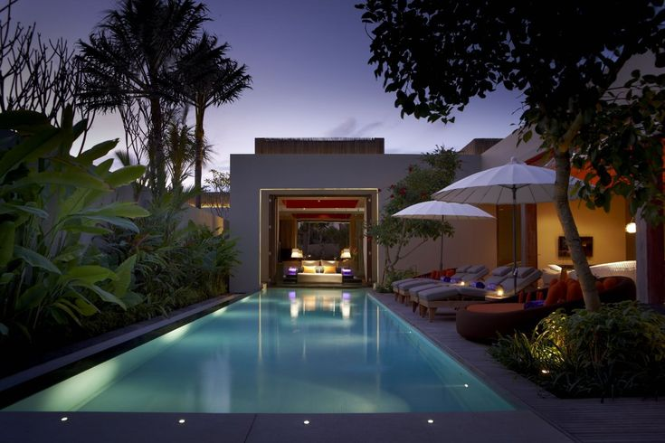 W Bali Villas and E-WOW Suite Interiors by AB Concept
