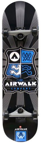Cheap Airwalk Uncontested Complete Skateboard, Silver - http://kcmquickreport.com/cheap-airwalk-uncontested-complete-skateboard-silver/