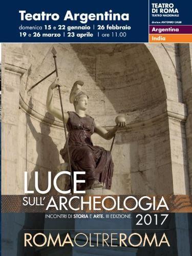 """Teatro Argentina Roma """"Incontri di Storia e Arte"""" – ARTE CON RESTAURO"""