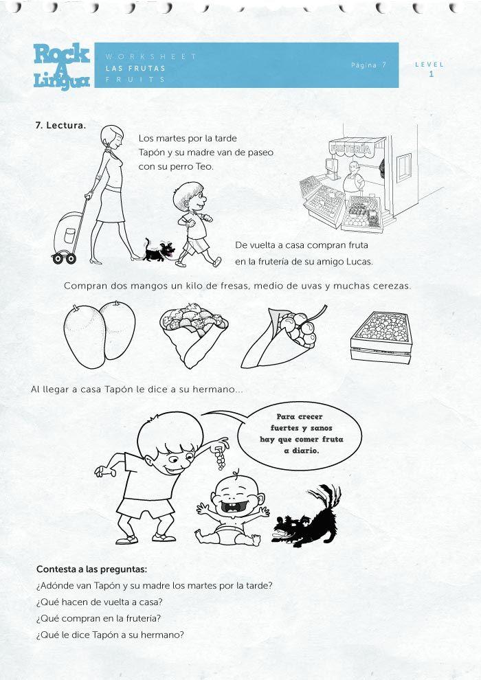 61 best spanish worksheets for kids images on pinterest spanish worksheets picture dictionary. Black Bedroom Furniture Sets. Home Design Ideas