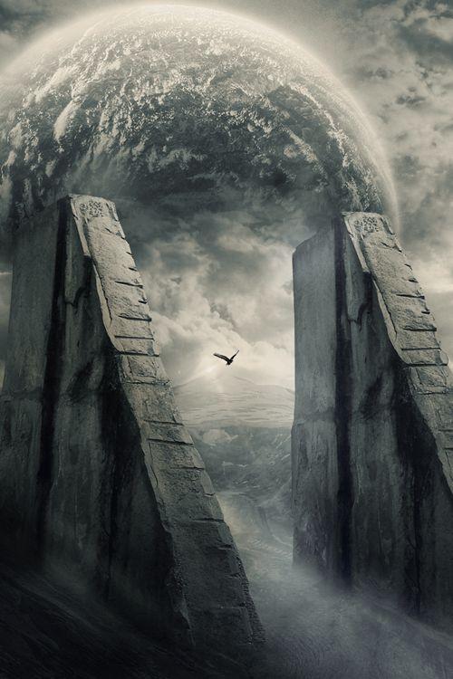 angels walking in tunnel wallpaper - photo #36
