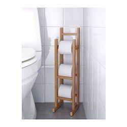 IKEA - RÅGRUND, Portarrollos, , Muy práctico para tener varios rollos de papel higiénico a mano.El bambú es un material natural muy resistente.