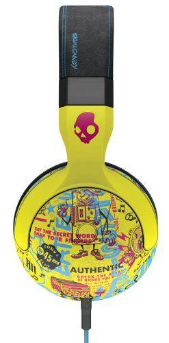 Skullcandy Hesh 2 Headphones w/Mic Toxic Tune/ Black/Magenta, One Size $51.33