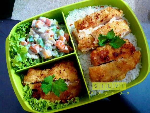 Resep Chicken Cordon Bleu Bekal Sekolah Bekal Kantor Oleh Silvi Fara Resep Makan Siang Resep Chicken Cordon Bleu