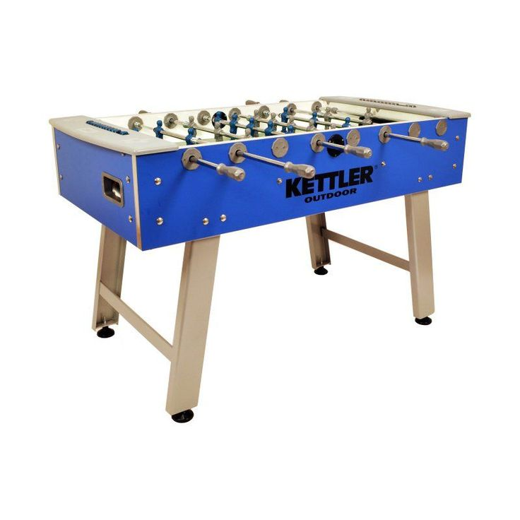 KETTLER Cavalier 58 in. Outdoor Foosball Table - 7199-200