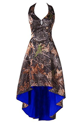 New WenSai Women's CAMO Halter Cocktail Birthday Party Dress Bridesmaid Dress Hi-Lo online. Find the perfect Ever Girl Dresses from top store. Sku kifz71578hwrm21662