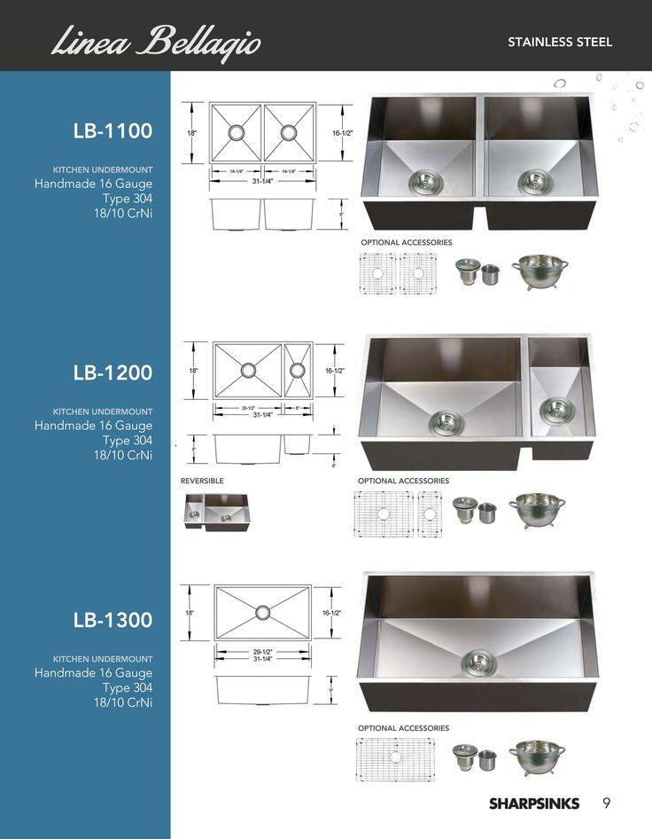 ESI SharpSinks Catalog Pg 9 Stainless Steel Sinks