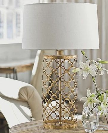 25 Best Ideas About Gold Lamps On Pinterest