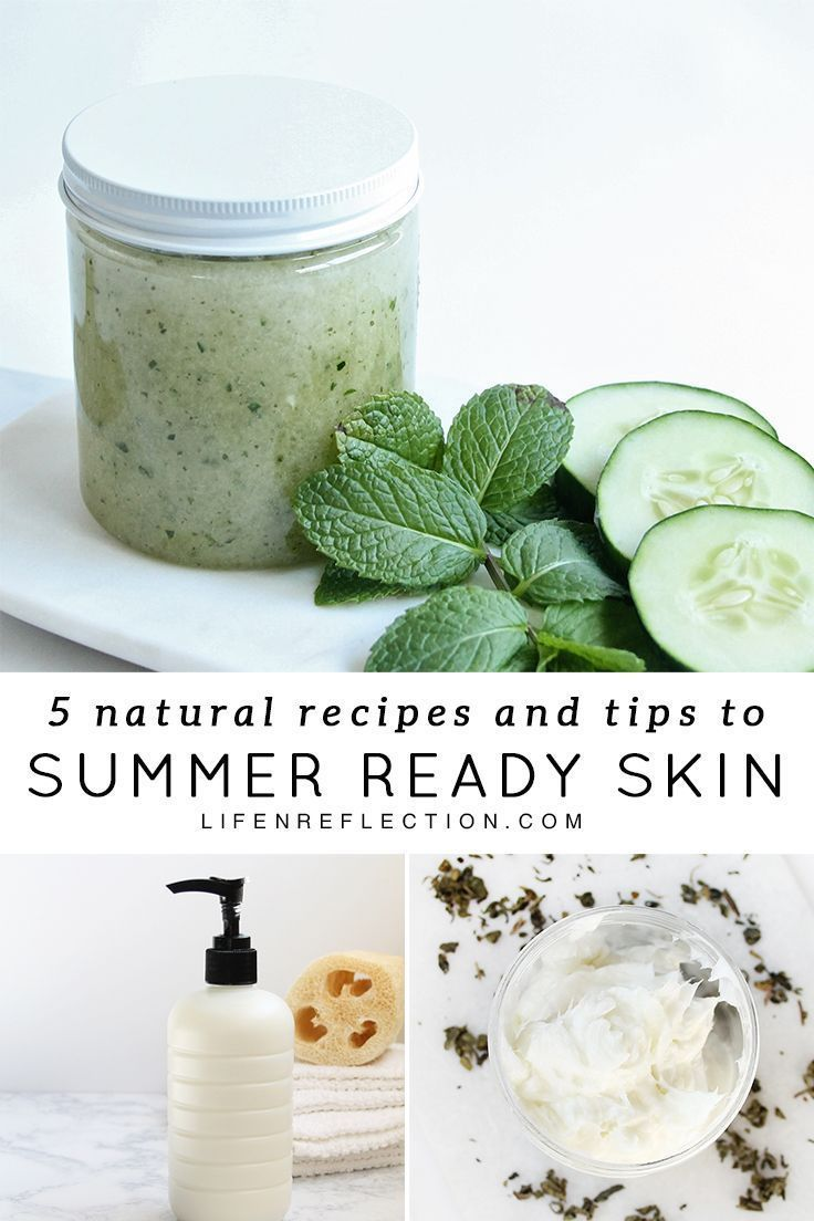 5 Natural Ways To Diy Summer Ready Skin Tips And Recipes Natural