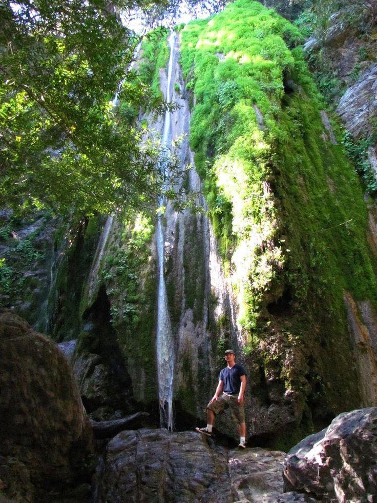 Rose Valley Falls, Ojai California